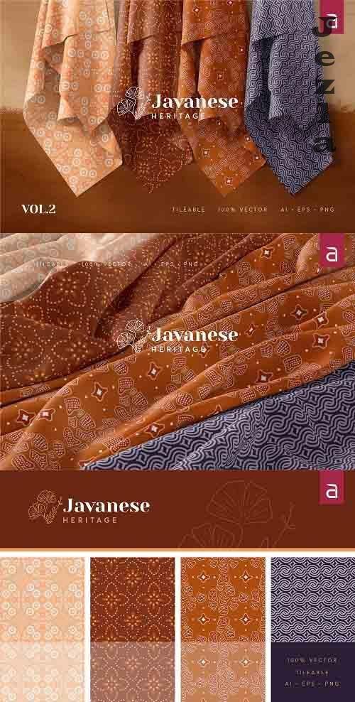 Javanese Heritage Seamless Batik v2 - 4954822