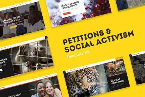 ThemeForest - Impacto Patronus v1.0 - Petitions & Social Activism Template Kit (Update: 15 May 20) - 26318157