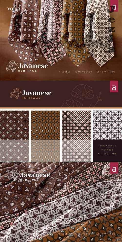 Javanese Heritage Seamless Batik v3 - 4961886