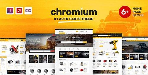 ThemeForest - Chromium v1.3.11 - Auto Parts Shop WordPress WooCommerce Theme - 21832717
