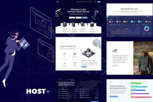 ThemeForest - Hostplus v1.0 - Hosting Services Template Kit (Update: 14 May 20) - 26397184