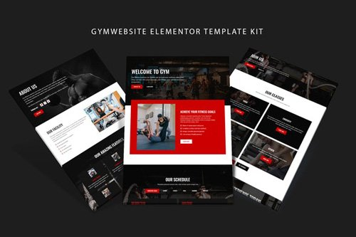 ThemeForest - Gymsite v1.0 - Gym Elementor Template Kit - 26054198