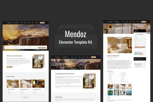 ThemeForest - Mendoz v1.0 - Hotel & Travel Template Kit - 26187292