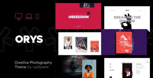 ThemeForest - Orys v1.0.5 - Creative Photography Theme - 24984410