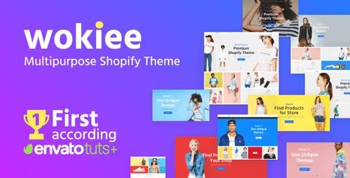 ThemeForest - Wokiee v1.8.1 - Multipurpose Shopify Theme - 22559417 - NULLED