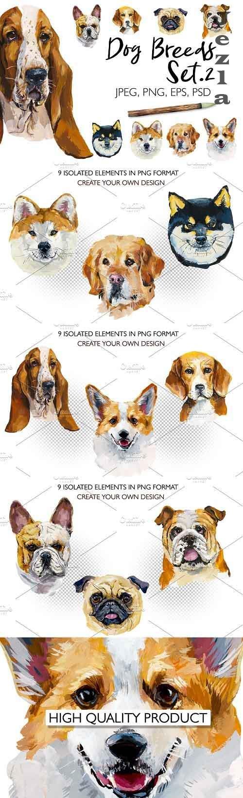 Dog breeds. Set 2 - 4757673