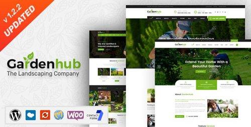 ThemeForest - Garden HUB v1.2.2 - Lawn & Landscaping WordPress Theme - 20200747
