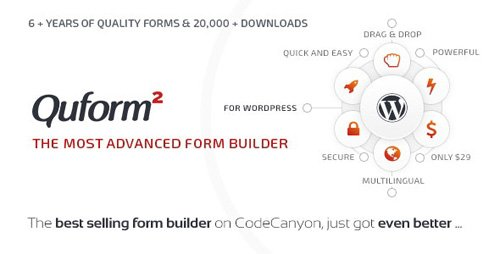 CodeCanyon - Quform v2.11.0 - WordPress Form Builder - 706149 - NULLED