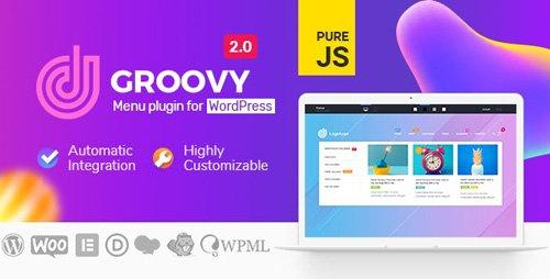 CodeCanyon - Groovy Mega Menu v2.0.14 - Responsive Mega Menu Plugin for WordPress - 23049456 - NULLED