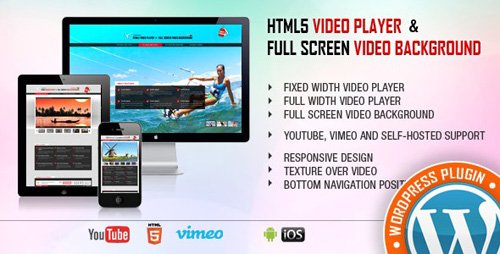 CodeCanyon - Video Player & FullScreen Video Background - WP Plugin v1.9.3 - 9323381