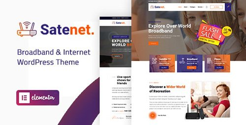 ThemeForest - Satenet v1.0.0 - Broadband Internet WordPress Theme - 25909707 - NULLED
