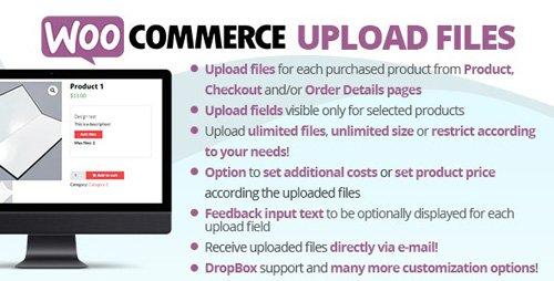 CodeCanyon - WooCommerce Upload Files v55.1 - 11442983 - NULLED