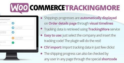 CodeCanyon - WooCommerce TrackingMore v2.8 - 24008326 - NULLED