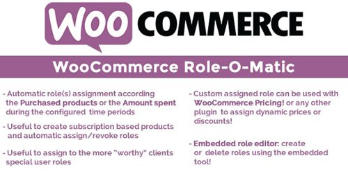 CodeCanyon - WooCommerce Role-O-Matic v7.9 - 15418671 - NULLED