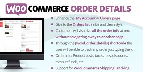 CodeCanyon - WooCommerce Order Details v2.5 - 22720424 - NULLED