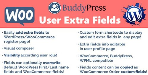 CodeCanyon - User Extra Fields v14.8 - 12949844 - NULLED