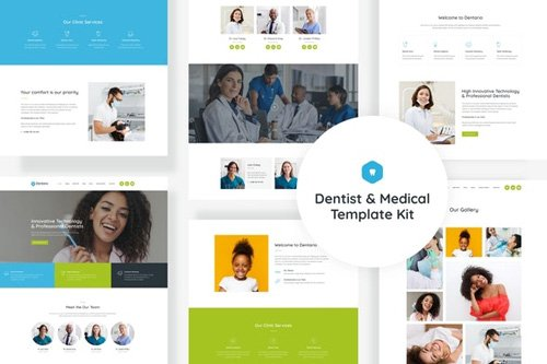 ThemeForest - Dentario v1.0 - Dentist & Medical Elementor Template Kit (Update: 15 May 20) - 26311805