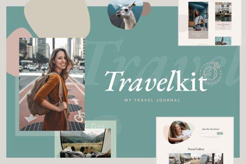 ThemeForest - TravelKit v1.0 - Journal & Blog Template Kit for Elementor - 26138379