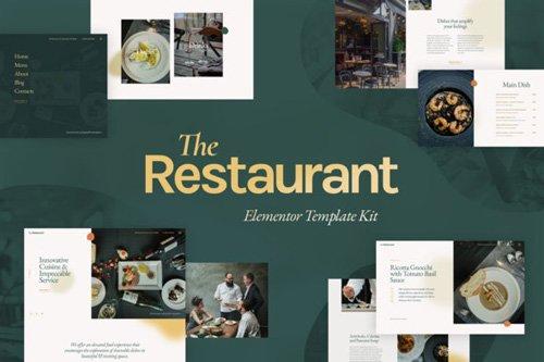 ThemeForest - The Restaurant v1.0 - Elementor Template Kit - 26343247