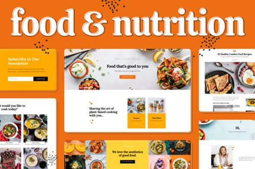 ThemeForest - Food & Nutrition v1.0 - Elementor Template Kit - 25980836