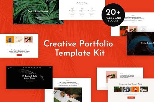 ThemeForest - Helion v1.0 - Creative Portfolio Elementor Template Kit (Update: 15 May 20) - 25909353