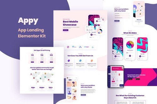 ThemeForest - Appy v1.0 - Sales & Landing Page Template Kit - 26283238