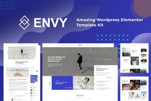 ThemeForest - Envy v1.0 - Elementor Template Kit News Magazine - 25926975