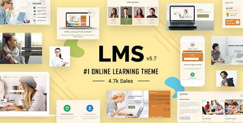 ThemeForest - LMS v6.0 - WordPress Theme - 7867581