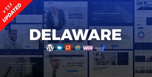 ThemeForest - Delaware v1.1.1 - Consulting and Finance WordPress Theme - 22717618