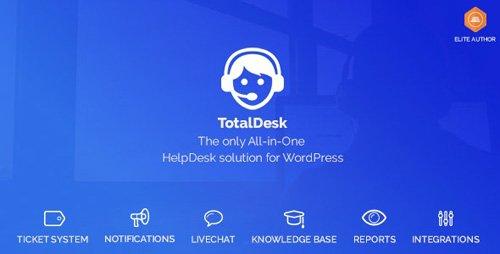 CodeCanyon - TotalDesk v1.7.1 - Helpdesk, Live Chat, Knowledge Base & Ticket System - 20502693