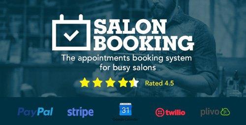CodeCanyon - Salon Booking v3.38 - Wordpress Plugin - 15963435