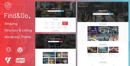ThemeForest - Findgo v1.3.29 - Directory Listing WordPress Theme - 21943352