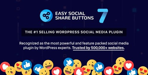 CodeCanyon - Easy Social Share Buttons for WordPress v7.2 - 6394476 - NULLED