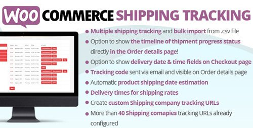 CodeCanyon - WooCommerce Shipping Tracking v24.9 - 11363158 - NULLED