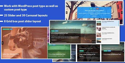 CodeCanyon - Responsive Recent Post Slider Pro v1.4.1 - plugin for WordPress - 20299474 - NULLED