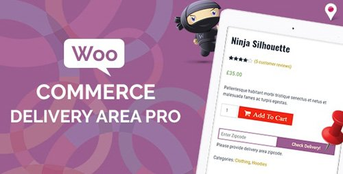 CodeCanyon - WooCommerce Delivery Area Pro v2.0.8 - 19476751