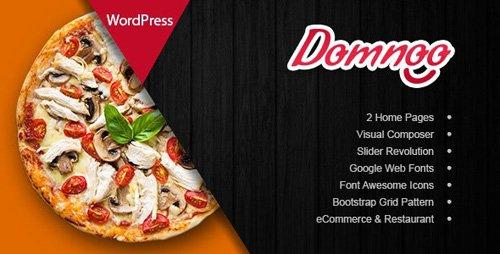 ThemeForest - Domnoo v1.22 - Pizza & Restaurant WordPress Theme - 20450815