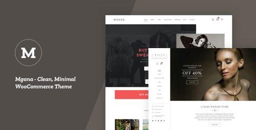 ThemeForest - Mgana v1.0.4 - Clean, Minimal WooCommerce Theme - 25024015