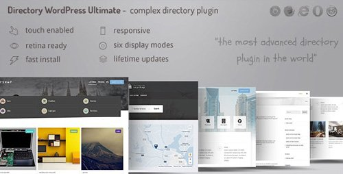 CodeCanyon - Directory ultimate PRO WordPress v1.01 - Table, Grid, List Directory Submit and Listings - 21421742