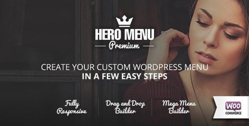 CodeCanyon - Hero Menu v1.12 - Responsive WordPress Mega Menu Plugin - 10324895