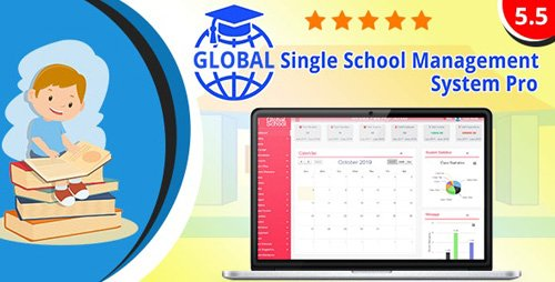 CodeCanyon - Global v5.5.0 - Single School Management System Pro - 21491101 - NULLED