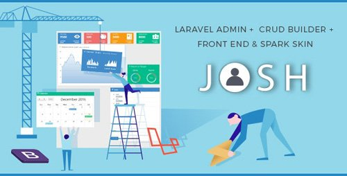 CodeCanyon - Josh v7.0.1 - Laravel Admin Template + Front End + CRUD - 8754542