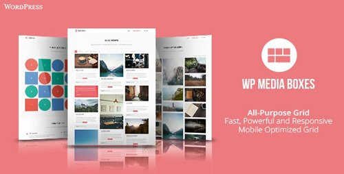 CodeCanyon - WP Media Boxes Portfolio v1.4.3 - Responsive Wordpress Grid Plugin - 22881148