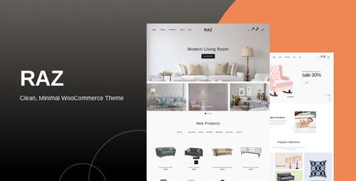 ThemeForest - Raz v1.0.2 - Clean, Minimal WooCommerce Theme - 23770232