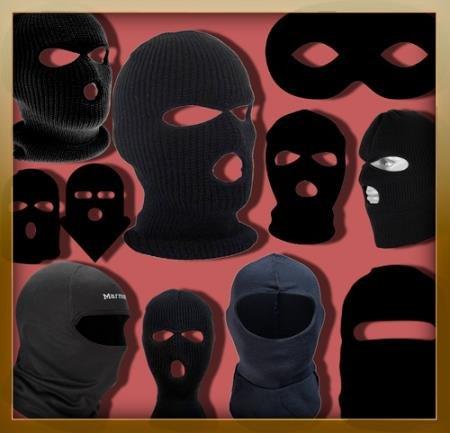 Растровые клипарты для фоторамок - Черные маски