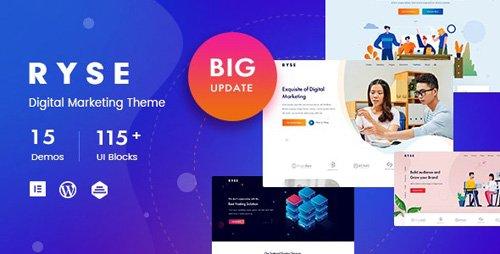 ThemeForest - Ryse v2.0.1 - SEO & Digital Marketing Theme - 24085168