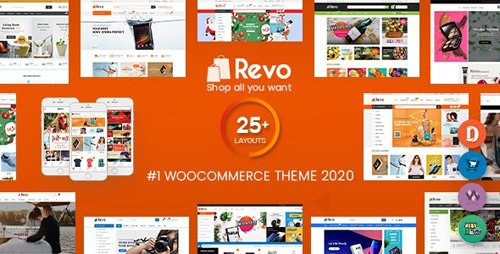 ThemeForest - Revo v3.6.3 - Multipurpose WooCommerce WordPress Theme (25+ Homepages & 5+ Mobile Layouts) - 18276186 - NULLED