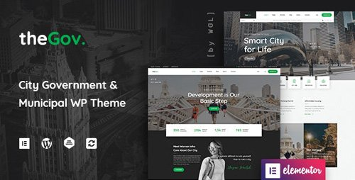 ThemeForest - TheGov v1.0.9 - Municipal and Government WordPress Theme - 25103272 - NULLED