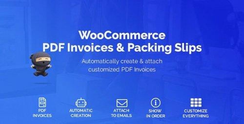 CodeCanyon - WooCommerce PDF Invoices & Packing Slips v1.3.9 - 22847240