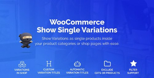 CodeCanyon - WooCommerce Show Variations as Single Products v1.1.13 - 25330620